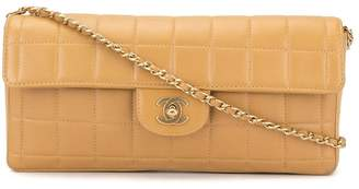 Chanel Pre-Owned Choco Bar chain shoulder bag