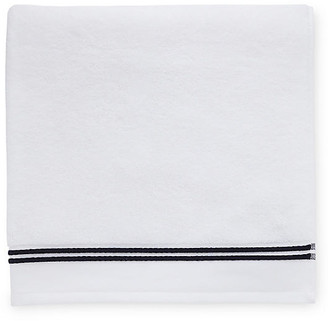 Sferra Aura Bath Towel - White/Black