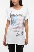 Urban Outfitters Warpaint Americana Lips Photo Tee