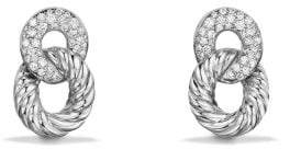 David Yurman Belmont® Extra-Small Curb Link Drop Earrings With