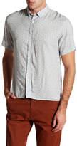 Billy Reid Murphey Short Sleeve Slim Fit Shirt