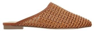Ravella Ransom Tan Weave Flat Shoes