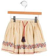Caramel Baby & Child Girls' Embroidered Skirt