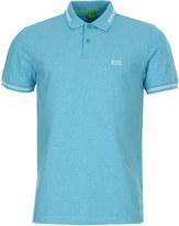 BOSS GREEN Polo Shirt Paul 50332530/497 Open Blue