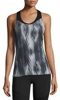 The North Face Runagade Mesh Tank Top, Black Pattern