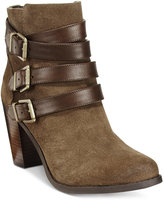 INC International Concepts Laini Block-Heel Booties, Only at Macy's