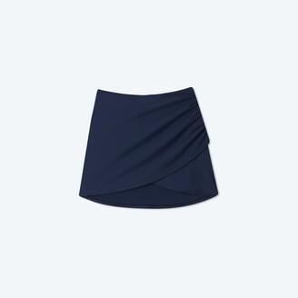 Summersalt The Ruched Swim Skirt - Deep Sea