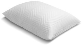 Simmons Quilted Comfort Luxium Memory Foam Cluster Pillow with Microban Antimicrobial Treatment