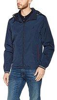 Nautica Men's Standard Long Sleeve Zip Front Bomber Jacket