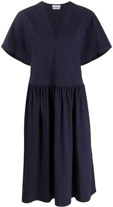 Deveaux Pleated Midi Dress