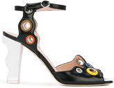 Christopher Kane eyelet detail sandal