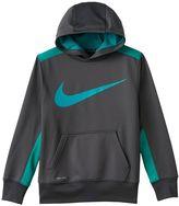 Nike Boys 8-20 Therma-Fit KO Swoosh Hoodie