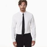 James Perse Matte Stretch Poplin Snap Shirt