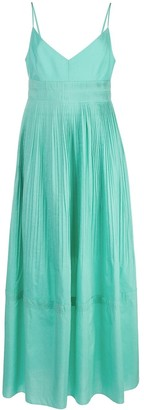 Nicholas Pleated Day Dress
