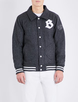 Billionaire Boys Club Brand logo wool-blend jacket