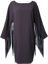 Steffen Schraut fringed sleeve dress - women - Polyester - 36