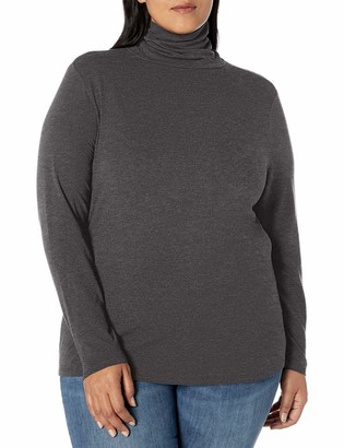 Amazon Essentials Plus Size Long-sleeve Turtleneck T-Shirt