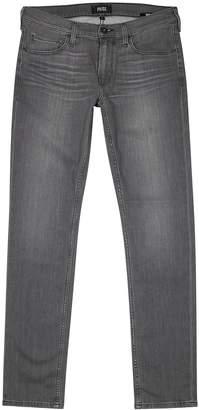 Paige Croft Transcend Grey Skinny Jeans