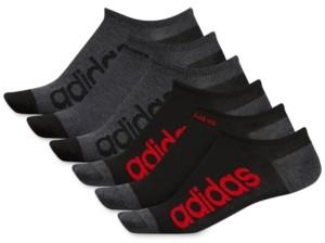 adidas Men's 6-Pk. Superlite Linear No-Show Socks