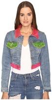 Jeremy Scott Multi Clear Denim Jacket