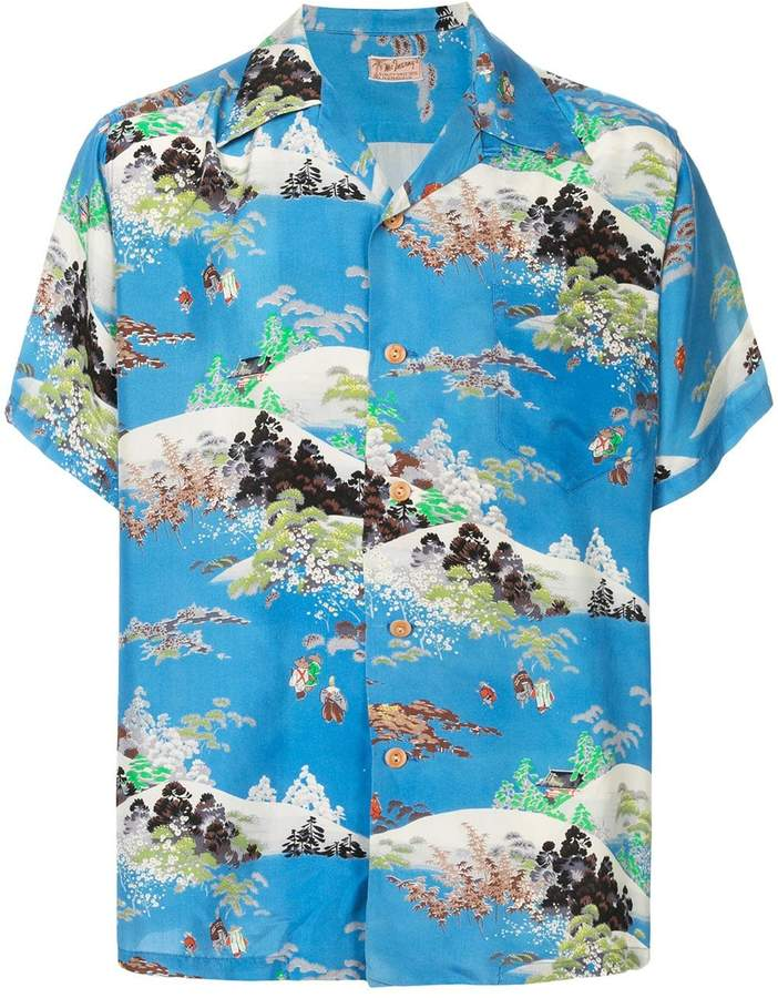 Fake Alpha Vintage Hawaiian Print Shirt by Fake Alpha Vintage Hawaiian Print Shirt