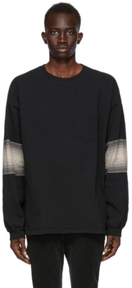 Remi Relief Black Striped Long Sleeve T-Shirt