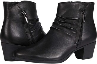 Munro American Elliot (Black Leather) Women's Boots