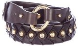 Diane von Furstenberg Studded Leather Belt