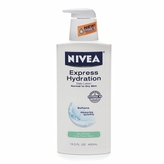 Nivea Express Hydration Daily Lotion, Normal to Dry Skin, Lotus Flower & Sea Minerals