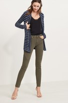 Dynamite Kate Khaki Skinny Moto Jeans