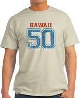 CafePress - Hawaii 50 T-Shirt - 100% Cotton T-Shirt
