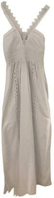 Charo Ruiz Ibiza White Cotton Dress for Women