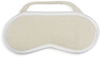 Portolano Ribbed Cashmere Eye Mask