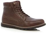 Red Herring Brown 'nova' Apron Boots
