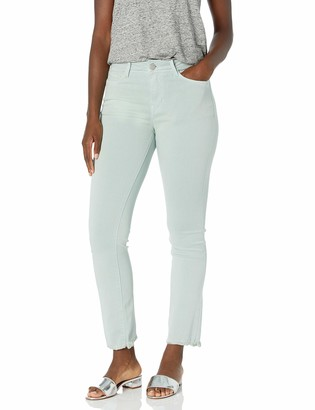 Lola Jeans Women's Plus Size High Rise Straight Crop
