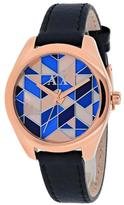 Armani Exchange Serena Collection AX5525 Women's Leather Strap Watch