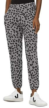 Michael Stars Salem Leopard Print Sweatpants
