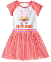 Peppa Pig Nickelodeon's Graphic-Print Tutu Dress, Little Girls
