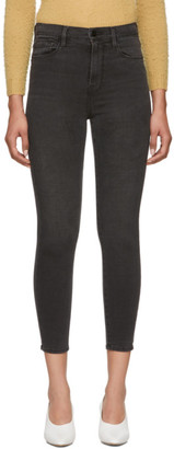 Frame Grey Ali High-Rise Cigarette Jeans