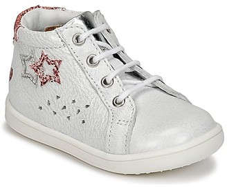 GBB SABBAH girls's Shoes (High-top Trainers) in White