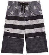 Burnside Americana Stripe Swim Trunks-Boys 8-20