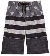 Burnside Americana Stripe Swim Trunks-Boys 8-20