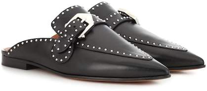 Givenchy Studded leather slippers