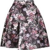 Dorothy Perkins Womens *Izabel London Black Zip Skirt