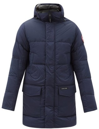 Canada Goose Armstrong Quilted-down Parka - Navy