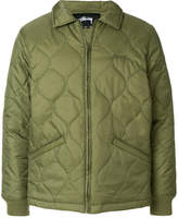 Stussy quilted zip jacket