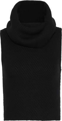 Alice + Olivia Darcey Brushed Ribbed Wool-blend Turtleneck Sweater