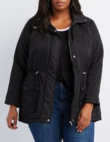 Charlotte Russe Plus Size Padded Anorak Jacket