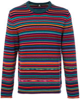 Paul Smith striped sweater - men - Cotton/Merino - L