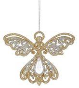 Kurt Adler Glitter Angel Ornament